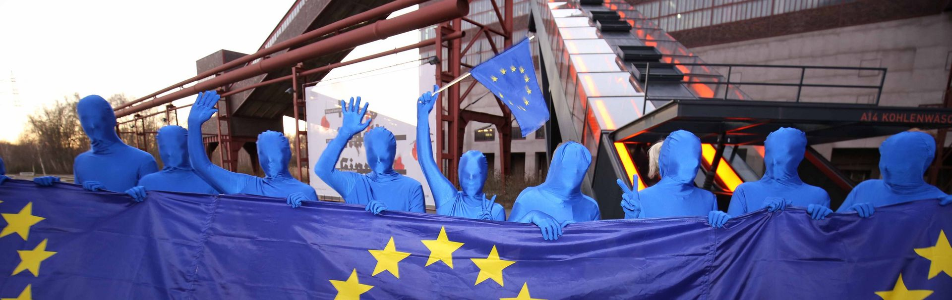 Pulse of Europe auf Zollverein, Foto: Michael Schwarze-Rodrian